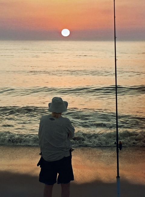 FishermanatSunrise-for card